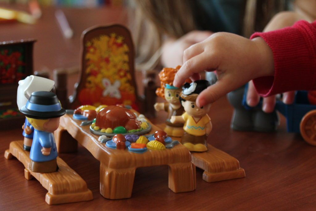 Fisher Price Little People Thanksgiving Set