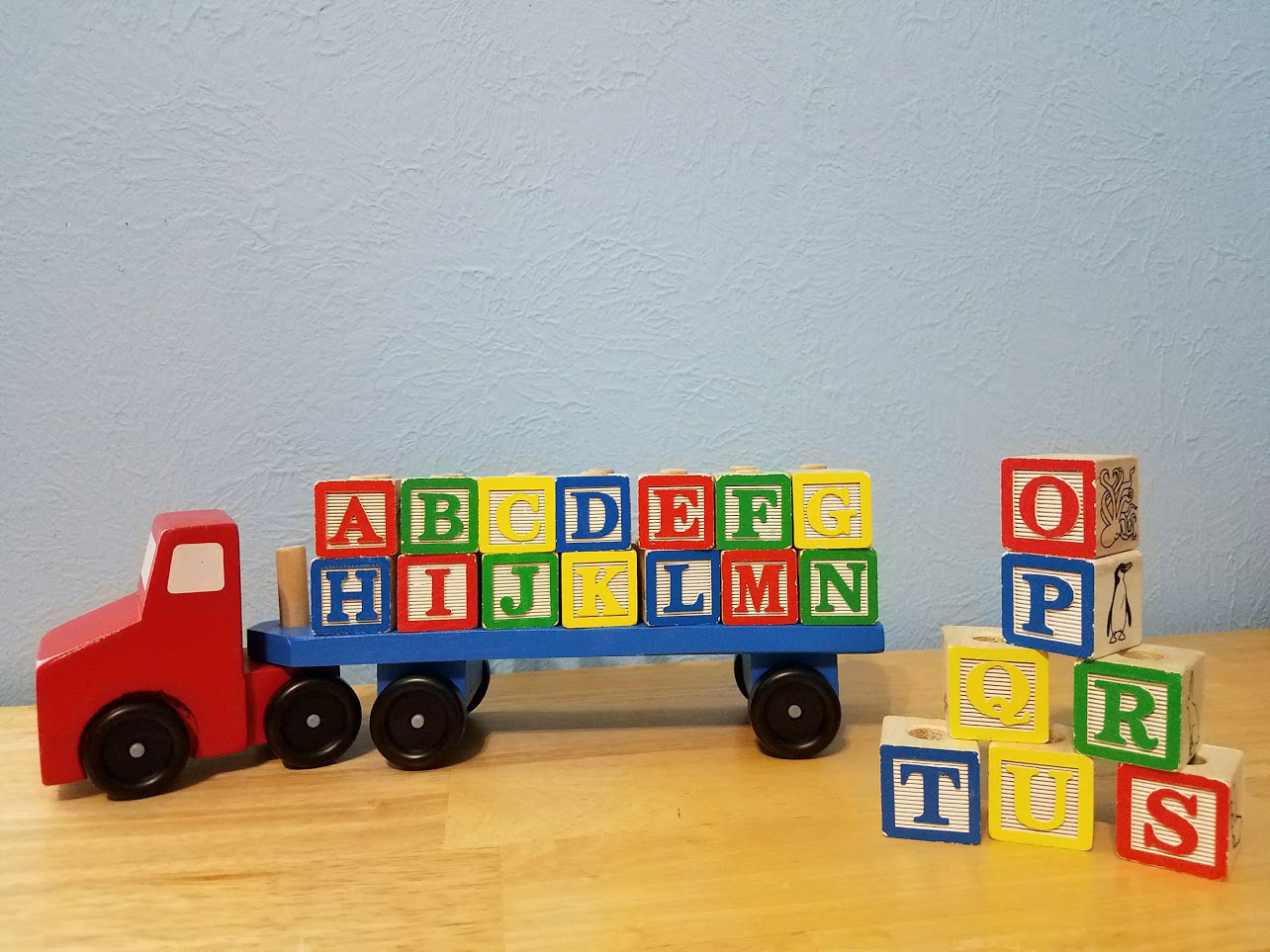 Melissa and Doug Alphabet Block Truck