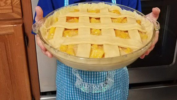 peach pie from scratch