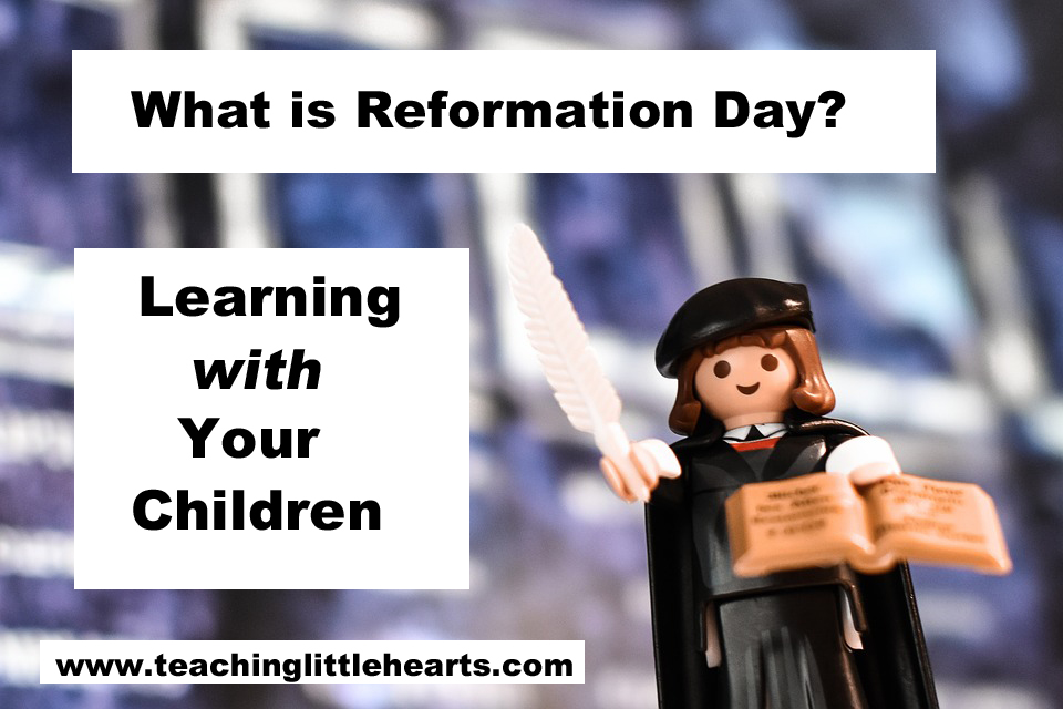 reformation day learning martin luther for kids teaching little hearts